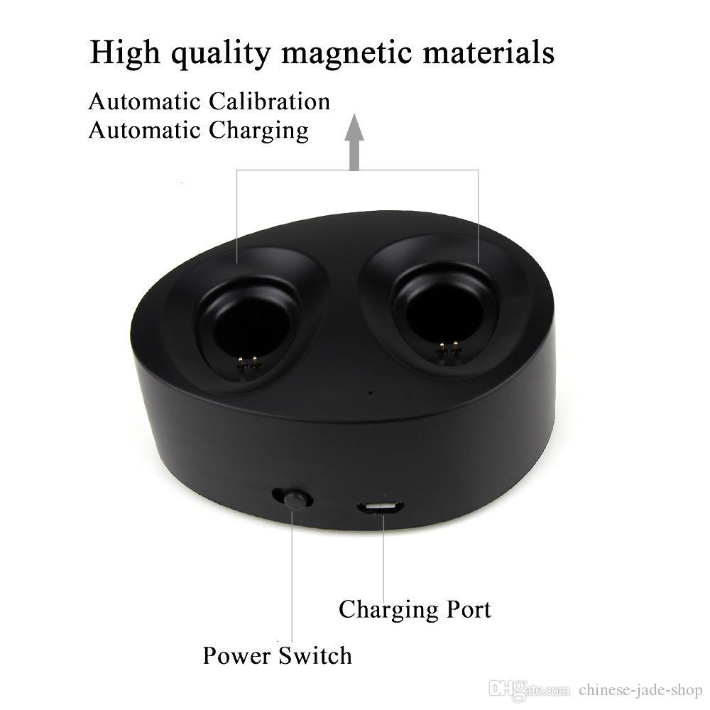 TWS K2 True Wireless CSR 4.1 블루투스 이어폰 스테레오 헤드셋 Bass Mic 듀얼 이어폰 헤드폰 충전 박스 독 /
