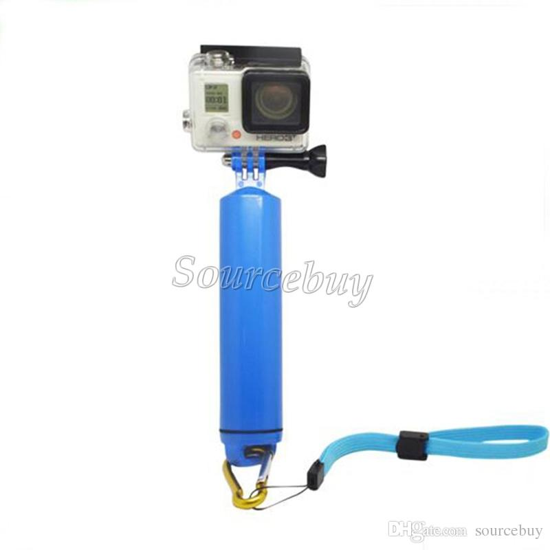 New Accessories For Gopro Hand Grip Handheld Floating Bobber Monopod Mount For Gopro Hero 4 2 3 SJ4000 GP251