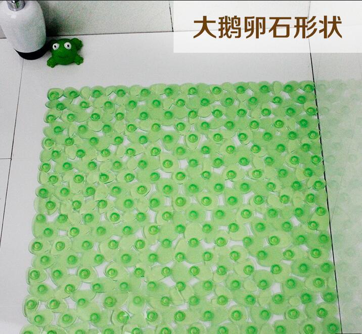 a large square 54 cm x54 cm cobblestone mat bathroom shower non slip mats can be spliced non slip bath mats sucker from dhgate