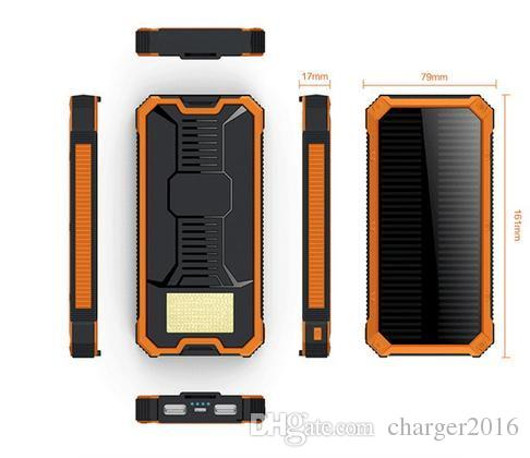 For Samsung Htc Sony Mobile Phone 12000mah Solar Power