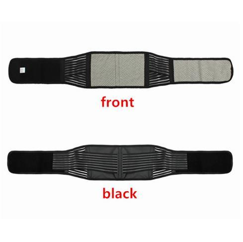 Health Beauty Adjustable Self-heating Lower Pain Relief Magnetic Therapy Back Waist Support Lumbar Brace Belt Double Pull Strap