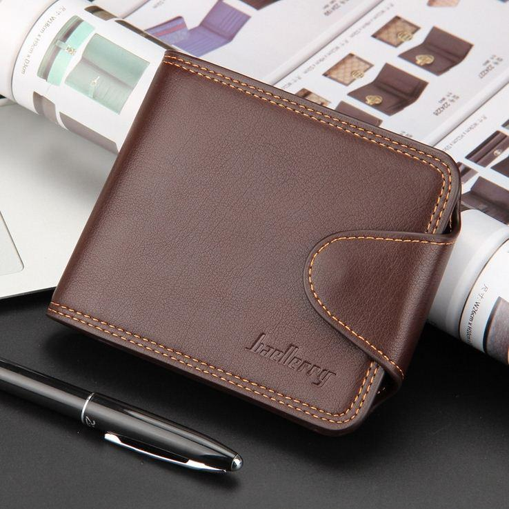 New Multifunction Man Wallets Mens Pu Leather Zipper Business Wallet ...
