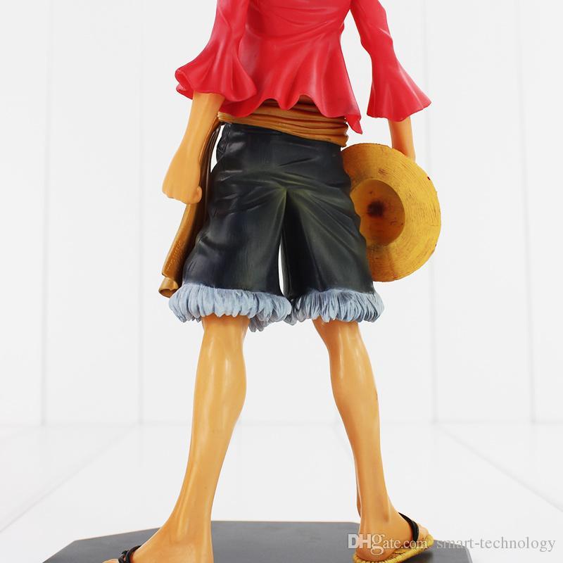 Цельный игрушки обезьяны D Луффи фигурку рисунок ПВХ Модель игрушка 25см Бесплатная доставка розничная