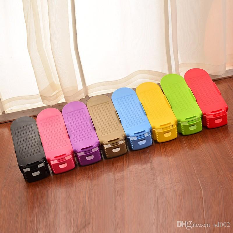 new design storage hanger plastic colorful adjustable shoes stand holders for living room shoe rack popular 1 8yy b from sd002 242 dhgatecom