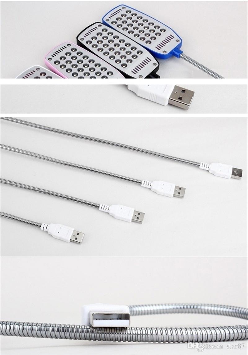 Мини 28 светодиодов USB Light Компьютер Лампа для портативного компьютера Портативный USB-порт Видимый индикатор питания
