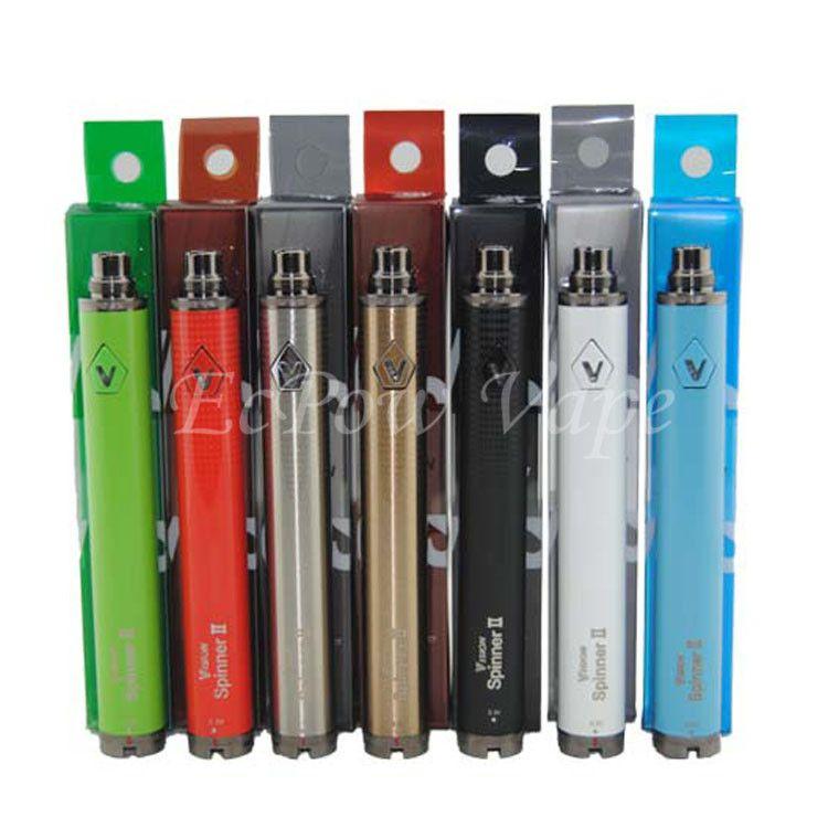 510 eGo Twist Batteries Ecig pen vision spinner 2 battery vape pens vv ecigarette vaporizer voltage variable battery for the best price