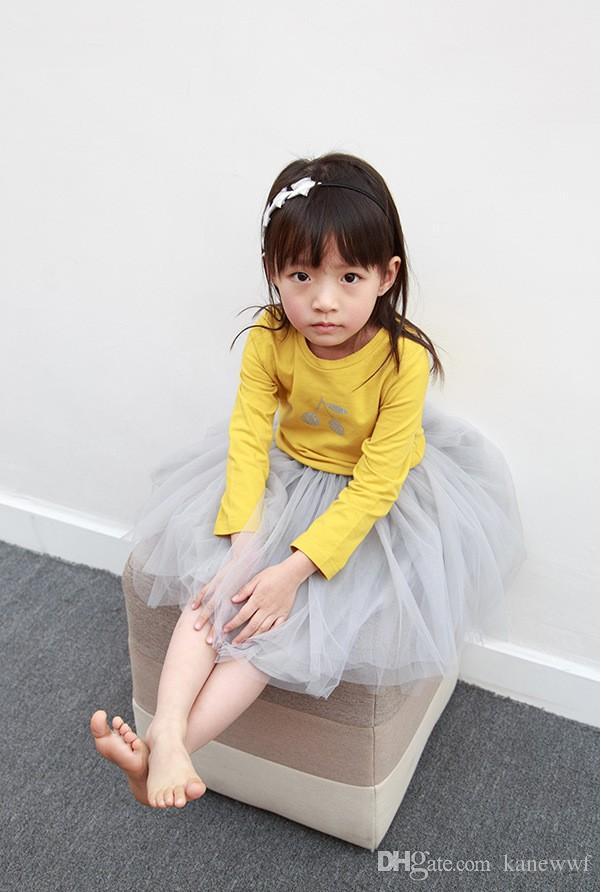 Weiches Baby Mädchen Pettiskirts Netz Schleierrock Kinder Niedliche Prinzessin Kleidung Geburtstagsgeschenk Kleinkind Ballkleid Party Kawaii Tutu Röcke