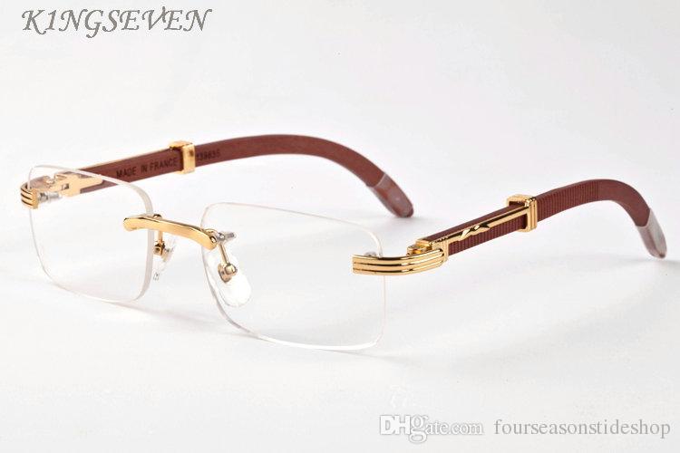 النظارات الشمسية الخشب والخيزران للرجال والنساء 2020 أزياء النظارات الشمسية بدون شفة مجموعة متنوعة مربع من لون العدسات وإطارات النظارات الرجعية الخشب الشمس