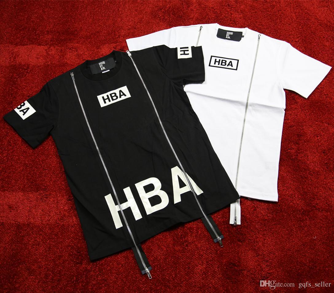 Men Hba T Shirt Hood By Air T Shirt X Been Trill Kanye West T ...