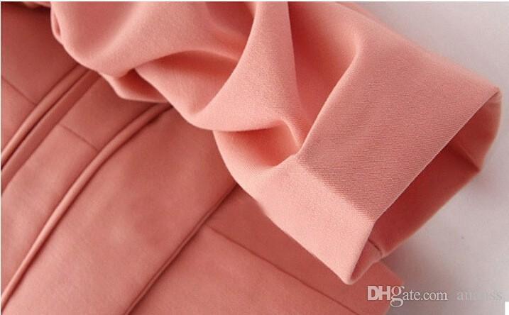 Color caramelo Chaqueta de traje delgado Blazer Feminino 2016 Nueva llegada de las mujeres ocasionales de las señoras Blazers traje femenino abrigo más el tamaño de la chaqueta