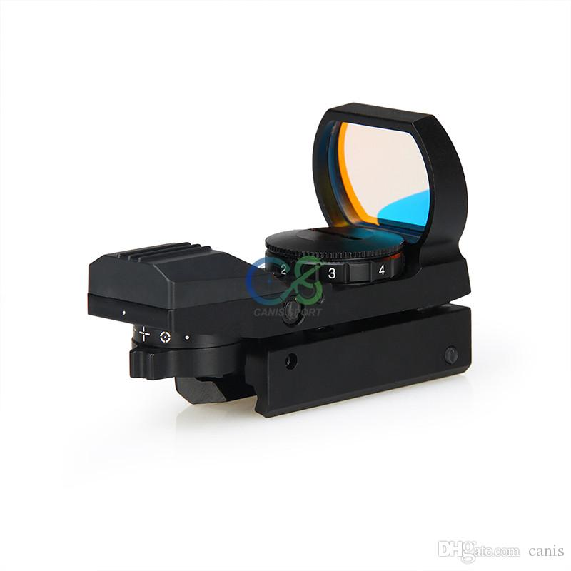 PPT Tactical Red Dot Scope 11mm Base 4 Reticle Red Dot Scope For Hunting CL2-0091B