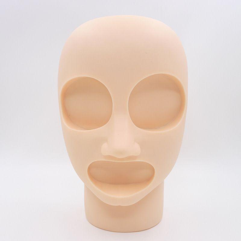 Substituição permanente da pele da prática da tatuagem da composição 3D 2 olhos e 1 bordos para a cabeça de formação do manequim