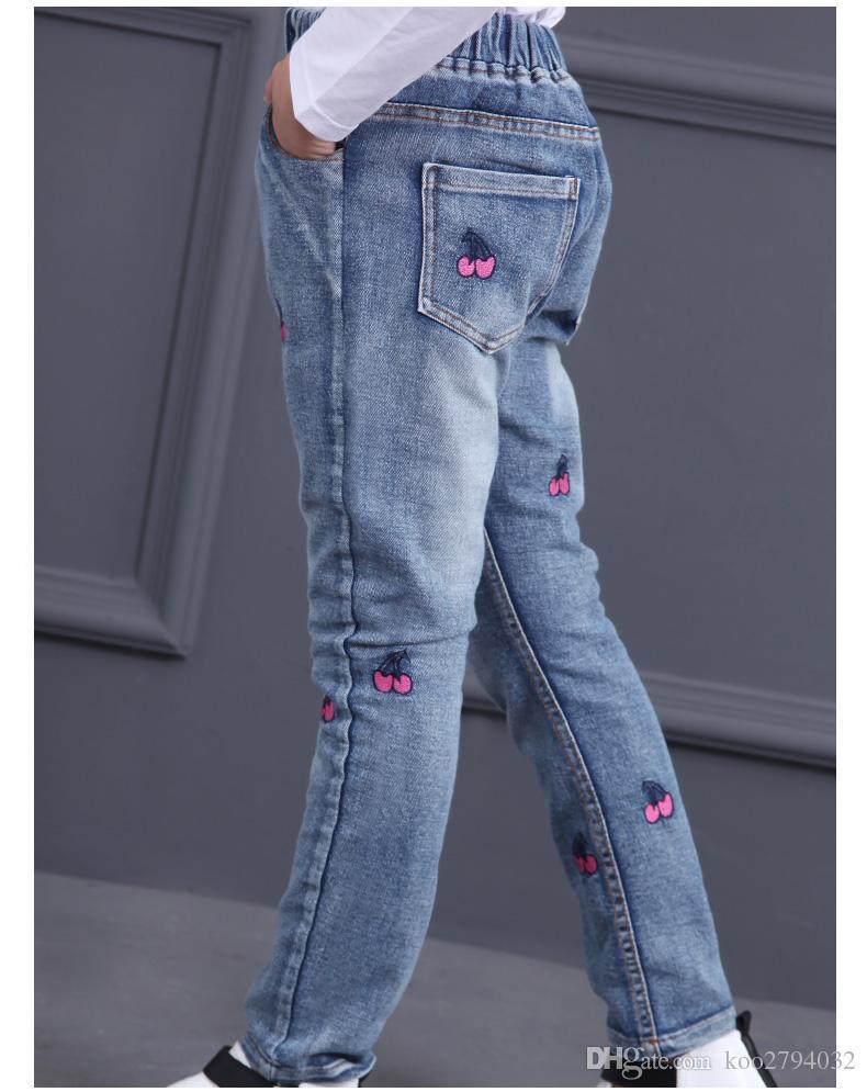 2016 Baby Girl Ropa de Rayas Establece Otoño Primavera Marca Niños Trajes Deportivos Sudadera Con Capucha Pantalones Gato de Dibujos Animados Niños TwinsetsRopa de niños