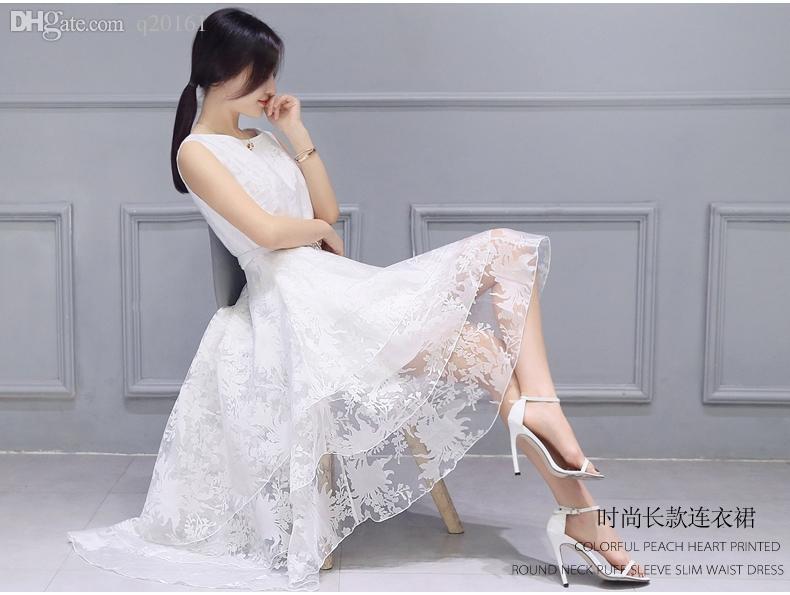 Simulation de haute qualité des vêtements de soie en été haute qualité pure robe blanche en soie bourgeon robe robe gros choix 2 femmes de la mode