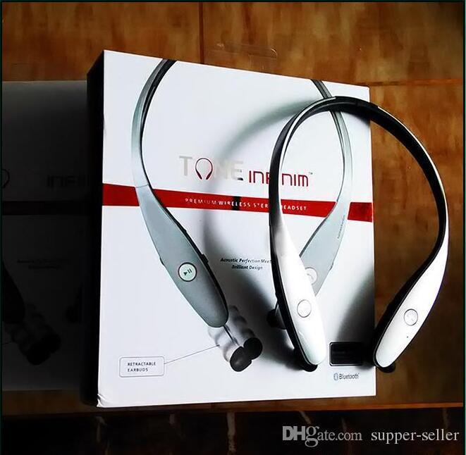 Neuer Marke HBS 900 drahtloser Sport-Kopfhörer Inohr Kopfhörer mit dem weißen Rückholpaket gepasst für iphone intelligenten Handy Samsung geben Verschiffen frei