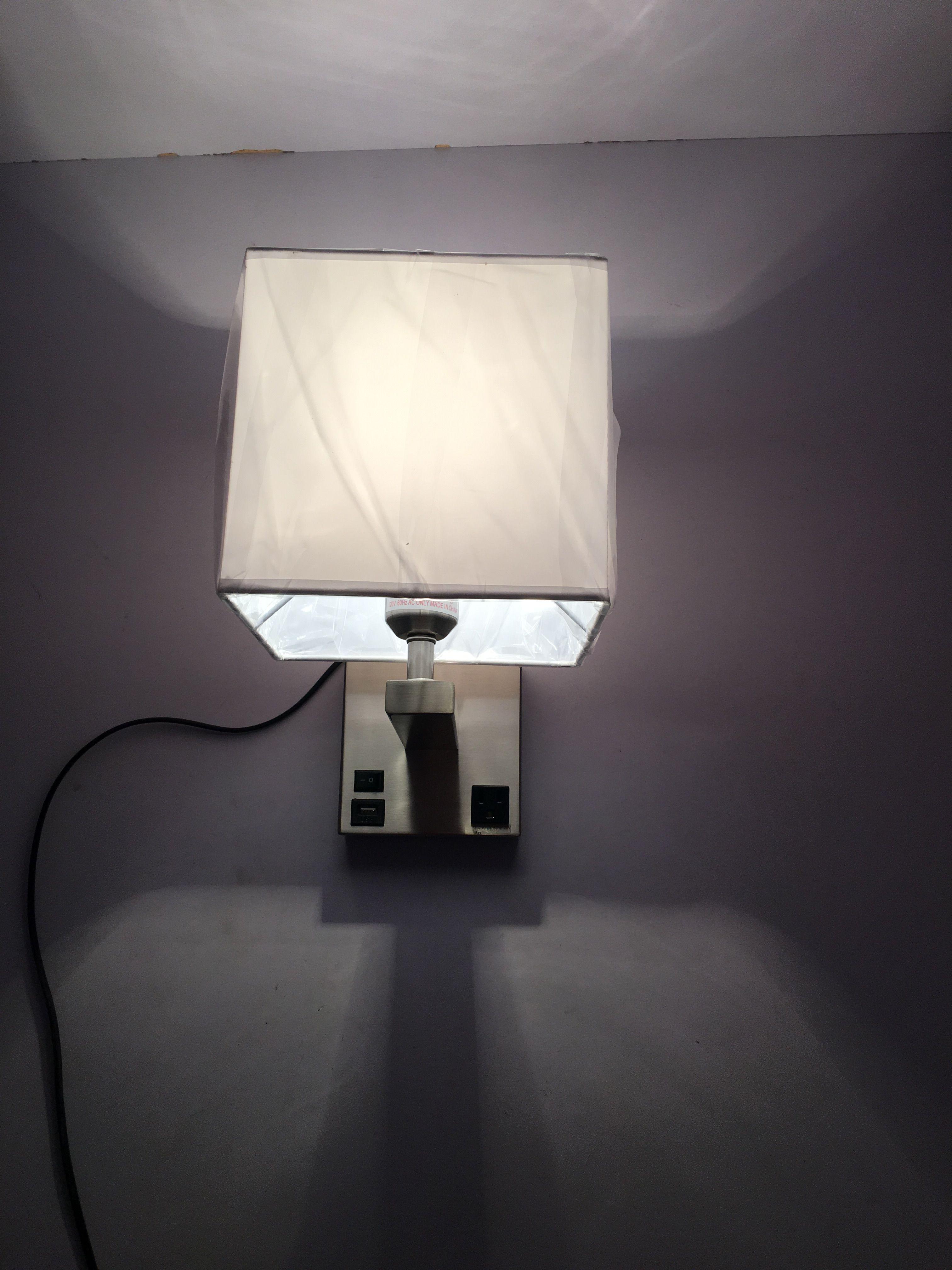 2018 Modern Hot Sale Single Wall Light For Sleep Inn & Suites With ...