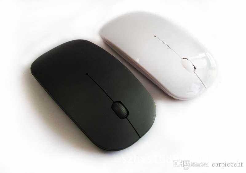 مصنع هدية النقدية 2.4 G فأرة بصرية لاسلكية رقيقة جدا ماوس لاسلكية بلوتوث ماوس USB المتلقي