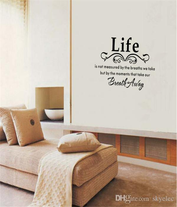 Removable Wall Art wall stickers black family diy removable art vinyl quote wall