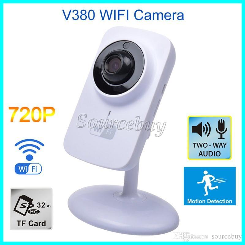86b4b5179ff Mini Wifi IP Camera V380 Wireless HD 720P 1280 720 Security P2P Monitor Night  Vision Surveillance TF Card Port Smart Camera Cctv Cameras For Sale Cctv ...