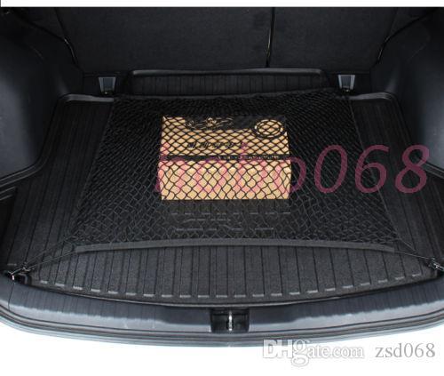 1x Pour AUDI A4 Modèle De Voiture Auto Noir Arrière Coffre Cargo Organizer Storage Nylon Net Plain