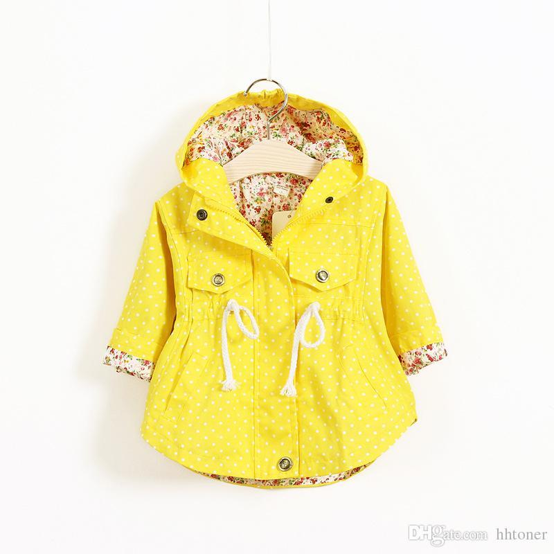 2016 New Autumn Winter Girls Jackets Kids Girls Outerwear Coats ...