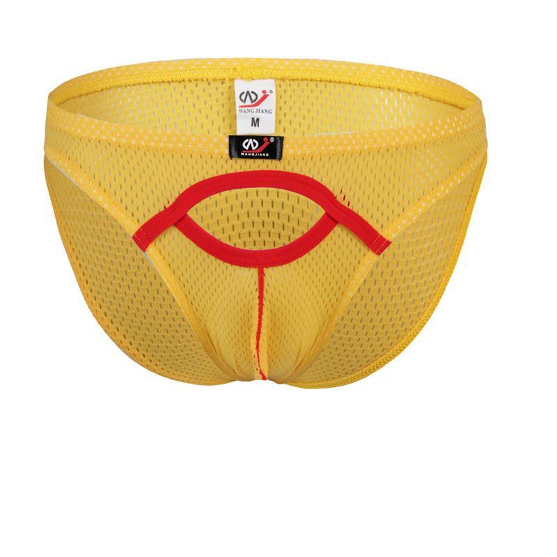 6546251be409 4003SJ Men's Underwear Wangjiang Brand Low Rise Mesh Perforated ...