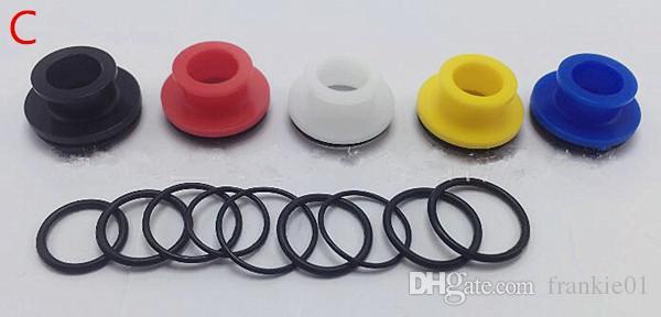 Summit Drip Tips Acero inoxidable ancho de plástico 22 mm para 510 hilos Atomizador Boquilla Boquilla Tapa superior