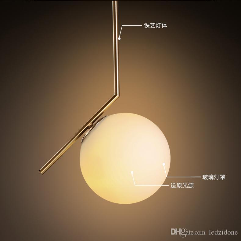 North europe led glass globe pendant light minimalist light north europe led glass globe pendant light minimalist light restautant pendant lights bedroom living room lighting fixture ac85 265v pendant light fixture aloadofball Choice Image