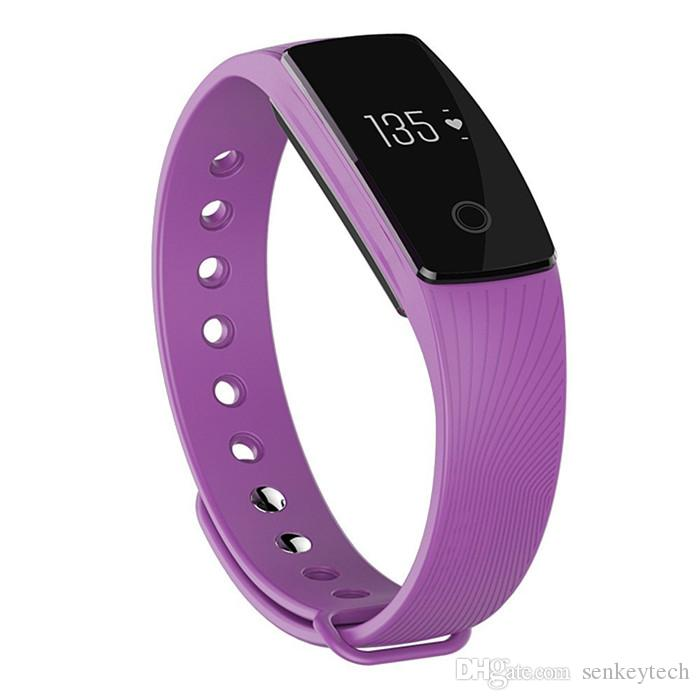 ID107 Heart Rate Smart Band Fashional Sport Bluetooth 4.0 Wristband Smart Bracelet Fitness Tracker Remote Camera For Android IOS