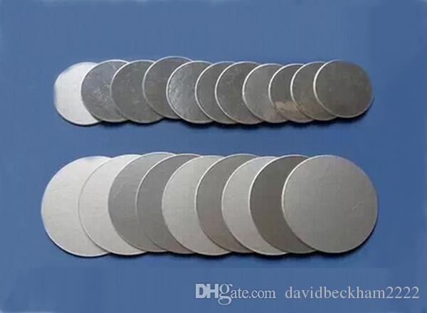 Customizable 15-50mm Aluminum foil seals for PET PE HDPE bottle medical grade