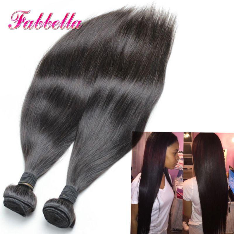 Malaysian Silk Straight Hair 20 Inch Hair Extensions Straight 100
