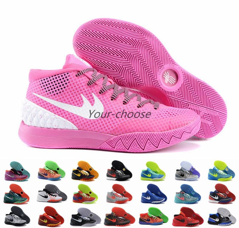 New 2016 Kyrie Irving Shoes Kyrie 1 Pink Women Basketball Shoes Sneakers  Dream BHM Easter All Star Sports Shoe Athletic Sneaker 36 40 4e Basketball  Shoes ... 1adf16841
