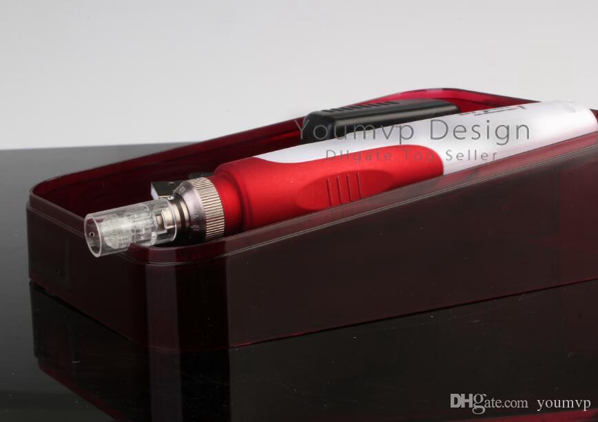 5 Speed Auto Electric Electric Hillco Ren Dr.pen Ultima Dermapen с 2 шт. Игольчатые картриджи
