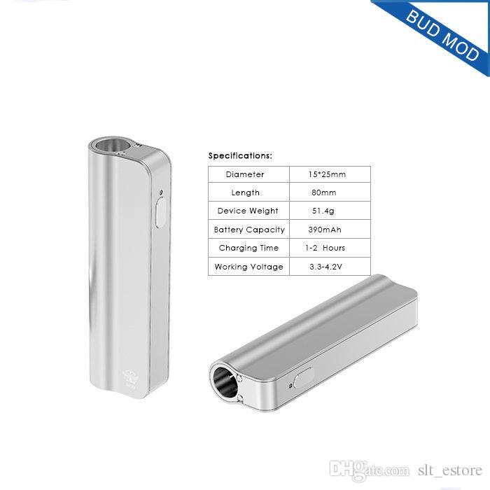 Authentic box mod Starter Kit 400mAh 10W Box Mod Thick Oil CE3 BUD CO2 oil Cartridges Atomizer O pen vs Mystica Vaporizer DHL