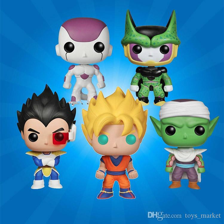 Grosshandel Funko Pop Dragon Ball Z Goku Vegeta Piccolo Perfekte