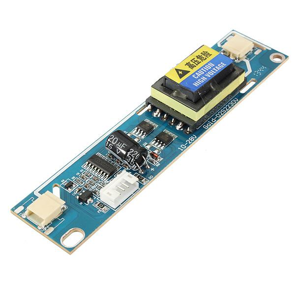 "Freeshipping 3pc 2 Lamp Backlight Universal Laptop LCD CCFL Inverter 10-28V For 10-22"" Screen 122 x 27mm ( L x W ) Board"