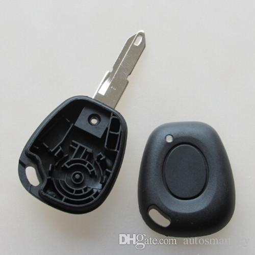 1 Button Uncut Blade Remote Key Shell Case for Renault Megane Scenic Laguna Car Key Replacement