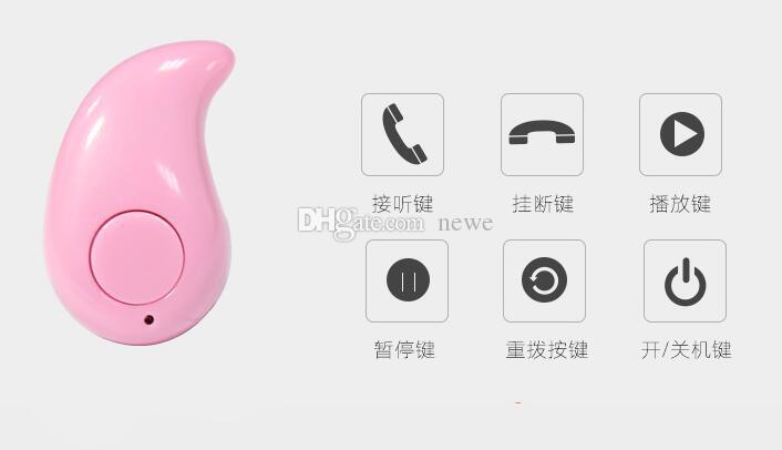 Mini Bluetooth Wireless Unsichtbarer Kopfhörer Kleinste Drahtlose Kopfhörer Ohrhörer Kopfhörer Headset mit Mikrofon