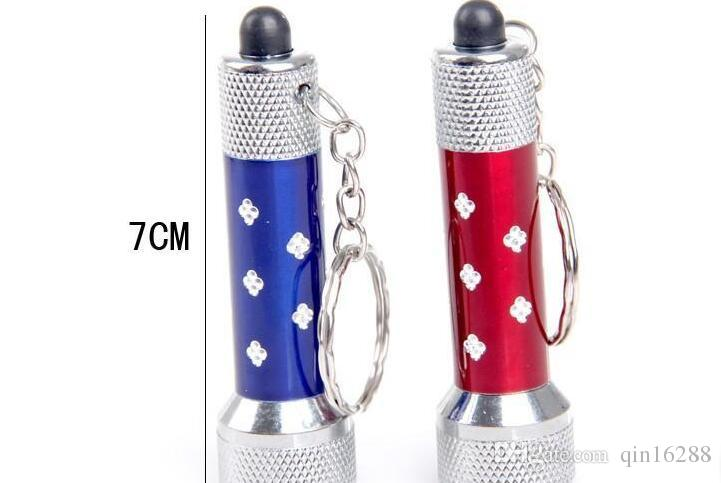 2016 the Cheapest various mini flashlight keychain electric torch aluminum alloy LED flashlight quality promised fast shipping