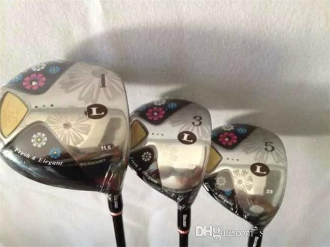 2018 Maruman Fl Wood Set Maruman Golf Woods Women Golf Clubs