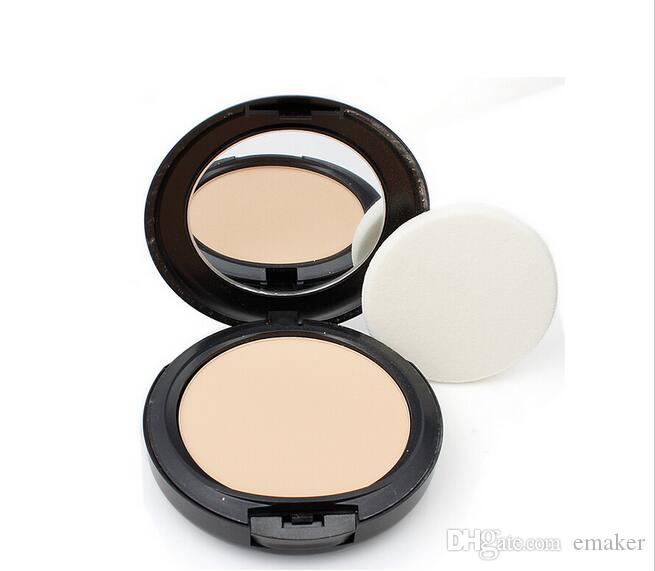 New Makeup Studio Fix Powder cake Plus Foundation, compact foundat, face powder + puffs 15g DHL free shipping