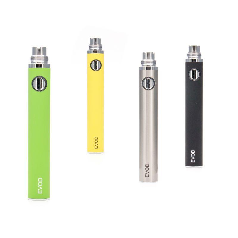 EVOD pil Değişken Gerilim 3.3 V 3.7 V 4.2 V 650 mah 900 mah 1100 mah elektronik sigara maç CE4 MT3 ego atomizer ile DHL ücretsiz kargo