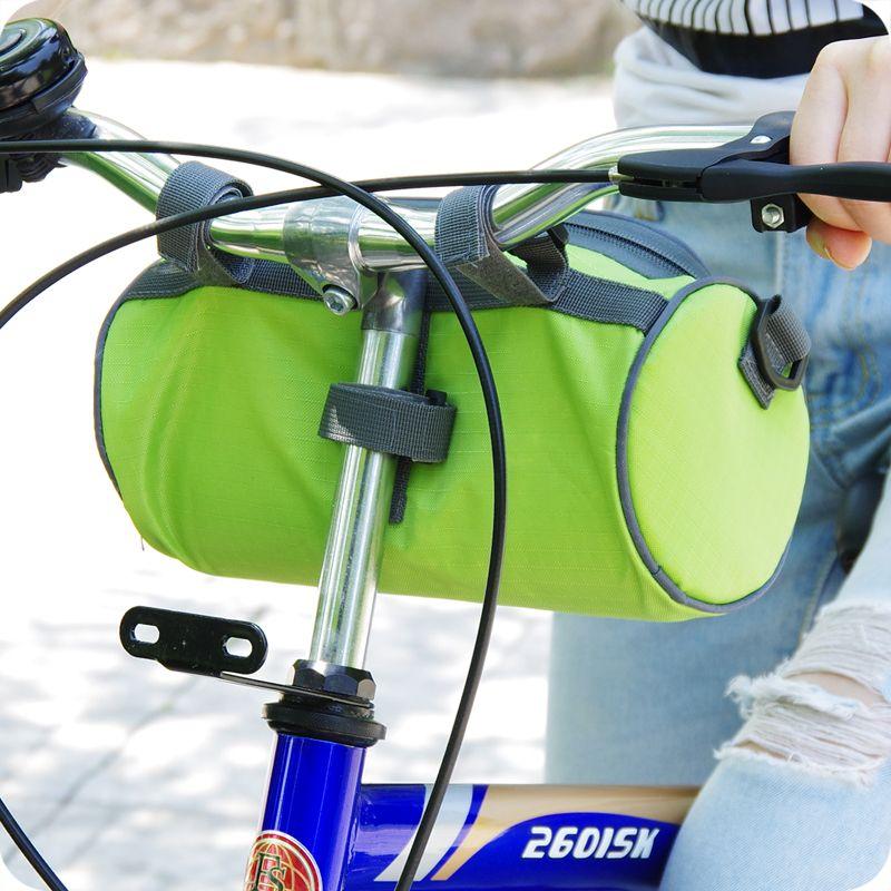 Marco de ciclismo Pannier Bolsa de tubo frontal Cesta de bicicleta Coloridas Accesorios para bicicletas Nuevo es para Seleccionar