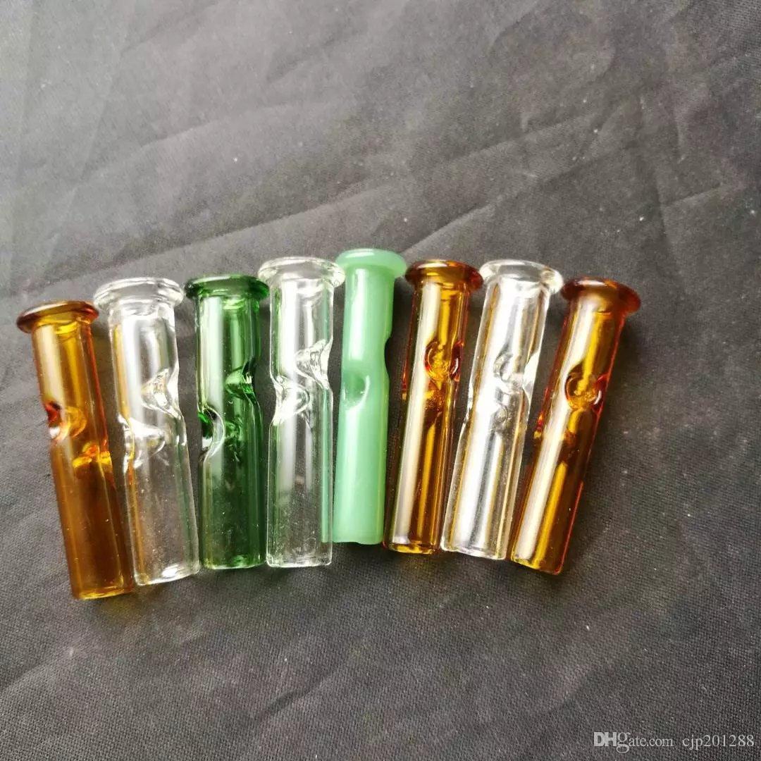 Многоцветная стеклянная насадка, оптовые стеклянные бонги, стеклянный кальян, аксессуары для дымовых труб