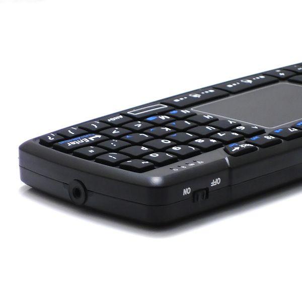 Vente chaude K168 Mini Qwerty RF2.4GHz Sans Fil Mini Clavier avec Pavé Tactile US Layout Pour Tablet PC Ordinateur Portable Android TV BOX