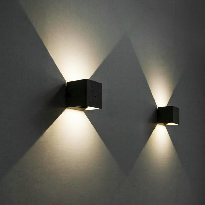 8w dimmable cob ip65 cube adjustable surface mounted outdoor led 8w dimmable cob ip65 cube adjustable surface mounted outdoor led lightig led indoor wall light up down led wall lamp cob led waterproof outdoor modern wall aloadofball Image collections