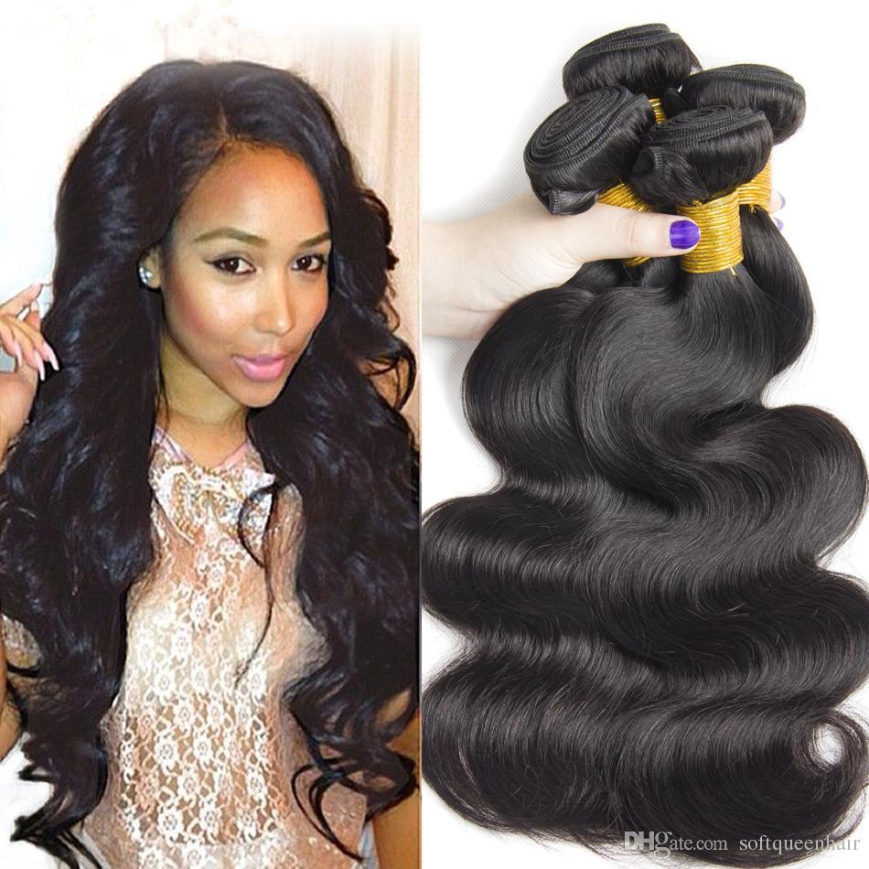 Best Peruvian Virgin Hair Weave Body Wave Unprocessed Malaysian