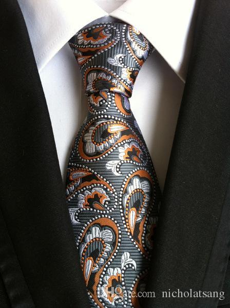 8 Estilos 2016 Hombres de moda de poliéster Hombres Corbata de lazo Floral Gravata para hombre Vestidos de negocios Hombres Corbatas Novio Paisley Hombres Corbatas
