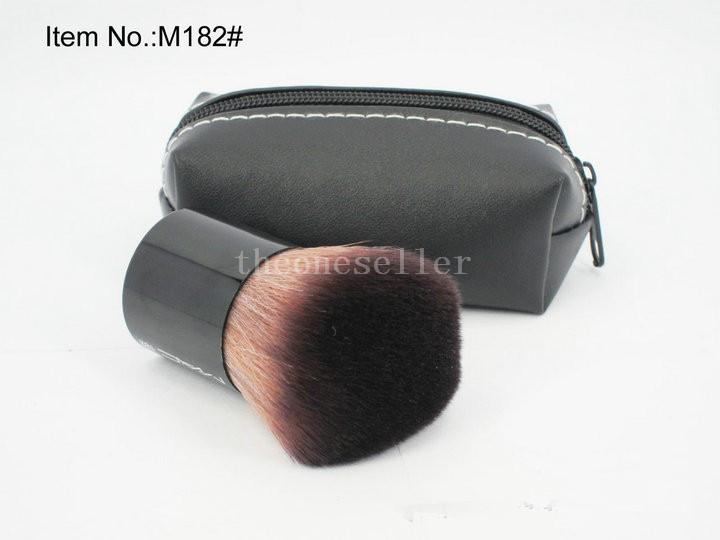 MC Professionelle Make-Up Kabuki Pinsel Gesichts Kosmetik Pinsel Erröten Pulver Pinsel Werkzeug Mit Beutel TOP Qualität