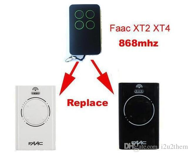 Faac Xt2 Xt4 868slh Compatible Garage Door Remote Control 868mhz Top